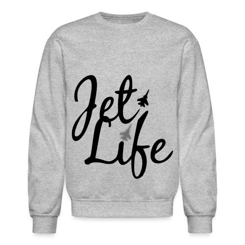 jet life crew sweat - Crewneck Sweatshirt