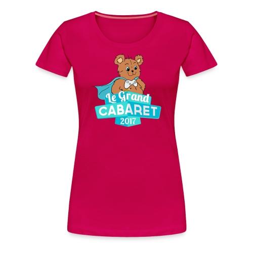 T-Shirt Femme GC 2017 - T-shirt premium pour femmes