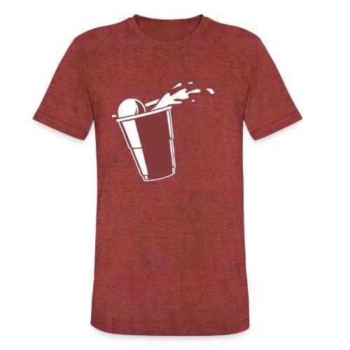 Beer Pong?  - Unisex Tri-Blend T-Shirt