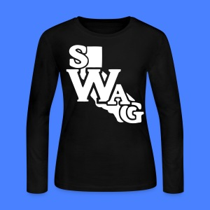 Cali Swag Long Sleeve Shirts - stayflyclothing.com - Women's Long Sleeve Jersey T-Shirt