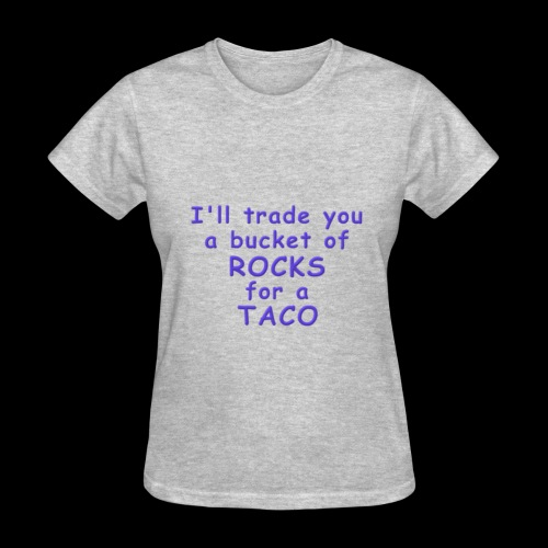 Rocks for Tacos - Women's T-Shirt