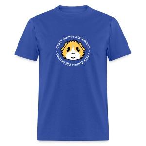 'Crazy Guinea Pig Woman' Unisex/Men's T-Shirt - Men's T-Shirt
