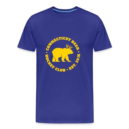 CT Beer Gym Class Shirt Royal - Men's Premium T-Shirt