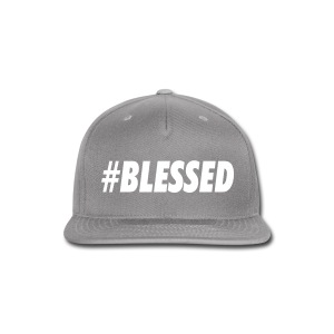 #blessed - Snap-back Baseball Cap