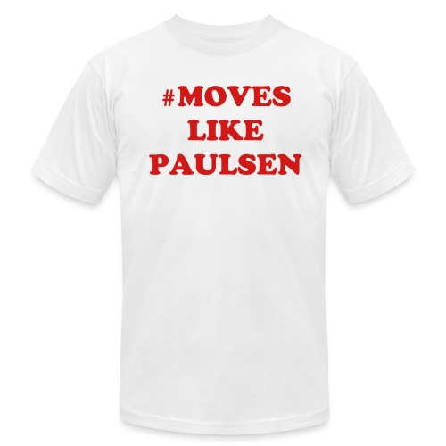 Moves Like Paulsen Tee - Men's T-Shirt by American Apparel