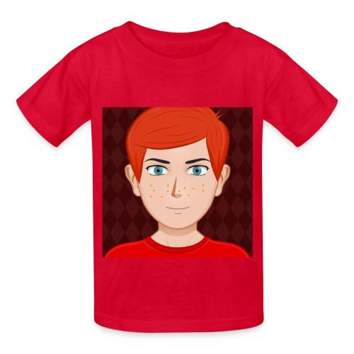 RED ANIMATED NIGNAZ T SHIRT FOR KIDS AND BABIES - Kids' T-Shirt