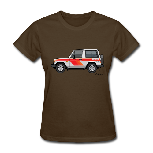 Three Diamond Pajero Shogun Montero Turbo Diesel - Women's T-Shirt