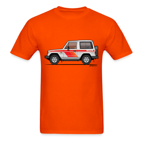 Three Diamond Pajero Shogun Montero Turbo Diesel - Men's T-Shirt