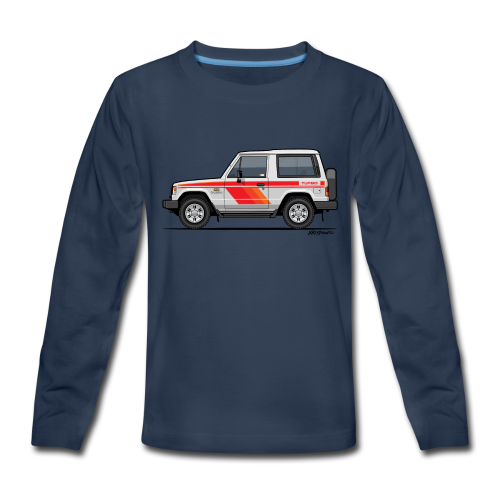 Three Diamond Pajero Shogun Montero Turbo Diesel - Kids' Premium Long Sleeve T-Shirt
