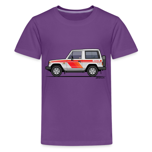 Three Diamond Pajero Shogun Montero Turbo Diesel - Kids' Premium T-Shirt