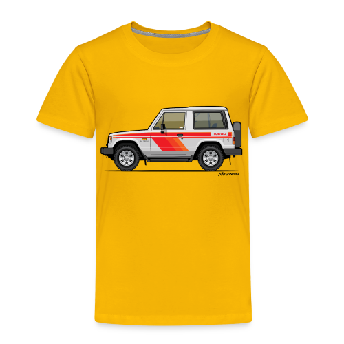 Three Diamond Pajero Shogun Montero Turbo Diesel - Toddler Premium T-Shirt