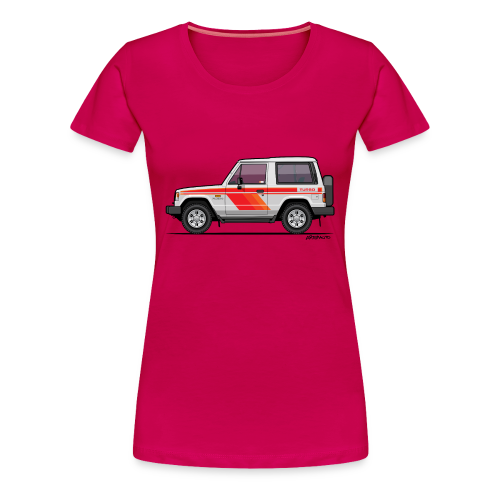 Three Diamond Pajero Shogun Montero Turbo Diesel - Women's Premium T-Shirt