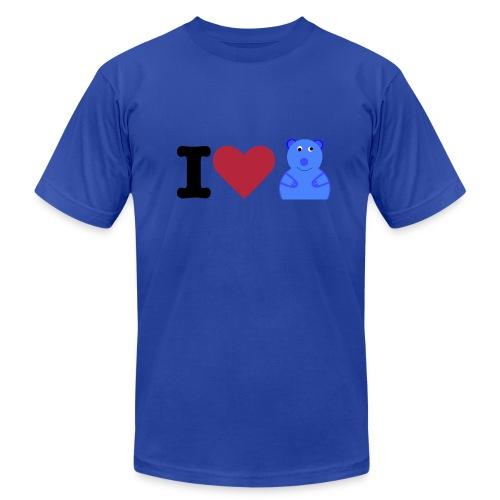 I Love Wombats - Men's Fine Jersey T-Shirt