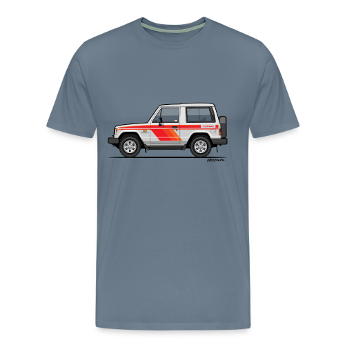 Three Diamond Pajero Shogun Montero Turbo Diesel - Men's Premium T-Shirt