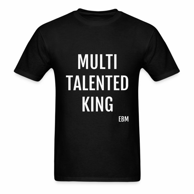 Multi-Talented Black Males Black Men's T-shirt Clothing by Stephanie Lahart.