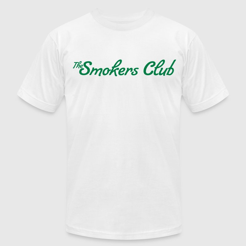 the Smokers Club T-Shirts - Men's T-Shirt by American Apparel