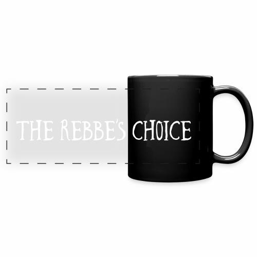 The Rebbe's Choice Mug - Full Color Panoramic Mug