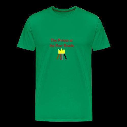 The Prince at the Four Roads Men's Shirt - Men's Premium T-Shirt