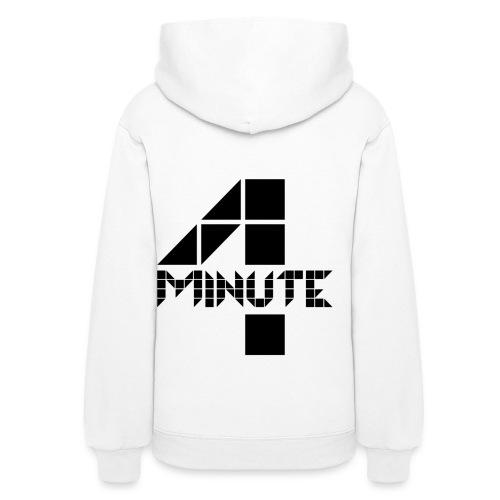 4Minute Logo in Black Women's Hoodie - Women's Hoodie