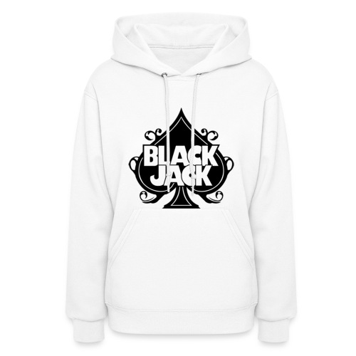2NE1 Blackjack Logo in Black Women's Hoodie - Women's Hoodie