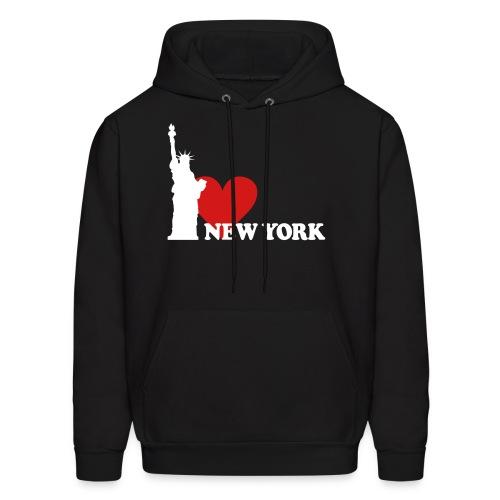 I [Heart] New York Hoodie - Men's Hoodie