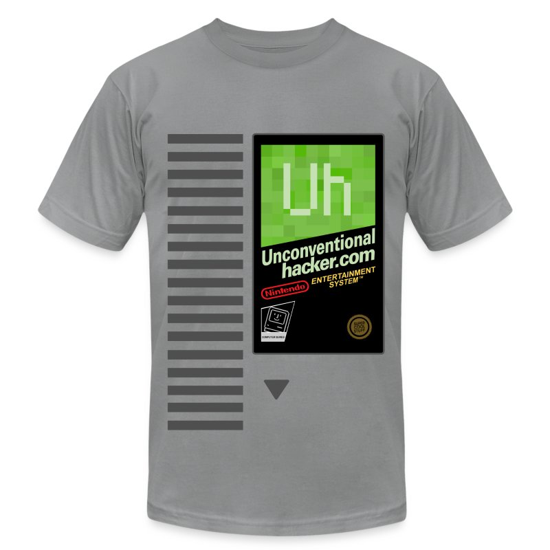 Nes Cartridge Shirt  - Men's T-Shirt by American Apparel