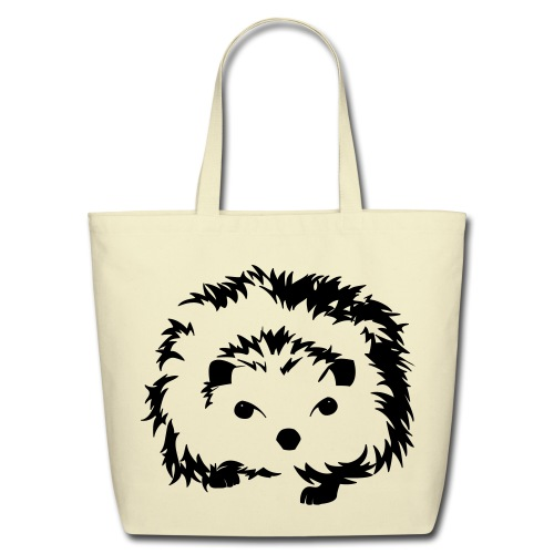 Hedgehog Bag - Eco-Friendly Cotton Tote