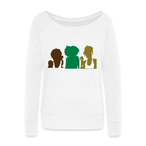 Natural Sistas - Women's Wideneck Sweatshirt