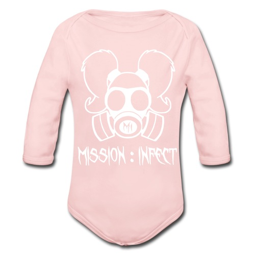 M:I HONEYS     - Organic Long Sleeve Baby Bodysuit