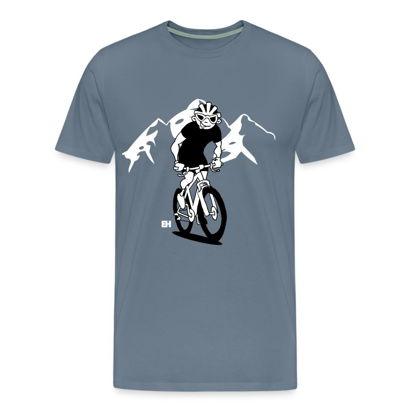 Mountainbike V bc - Men's Premium T-Shirt