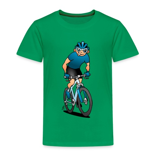 Mountainbike V fc - Toddler Premium T-Shirt