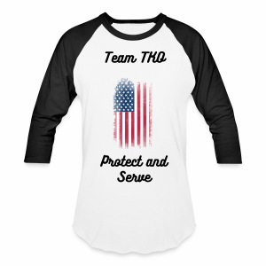 USA Protect and Serve Baseball T-Shirt  - Baseball T-Shirt