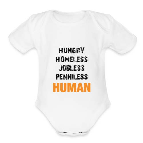 Short Sleeve Baby Bodysuit - Organic Short Sleeve Baby Bodysuit