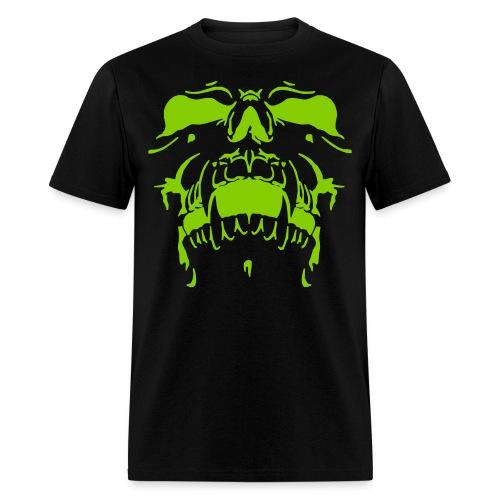 Frightening skull - Men's T-Shirt