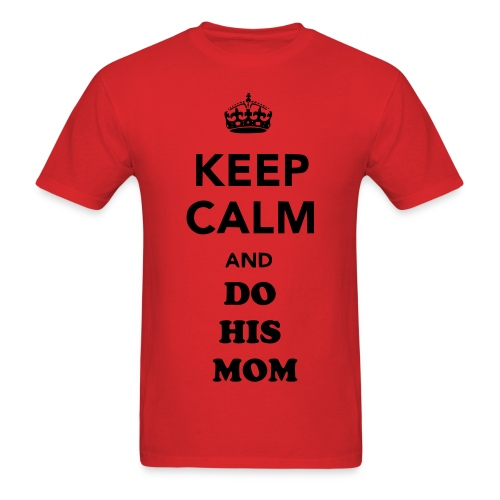 Keep Calm Meme - Men's T-Shirt