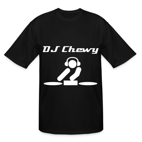 DJ Chewy black - Men's Tall T-Shirt