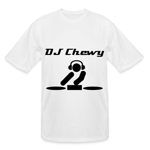 DJ Chewy white - Men's Tall T-Shirt