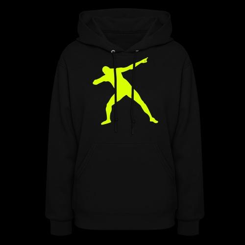 Usain Bolt Silhouette - Women's Hoodie