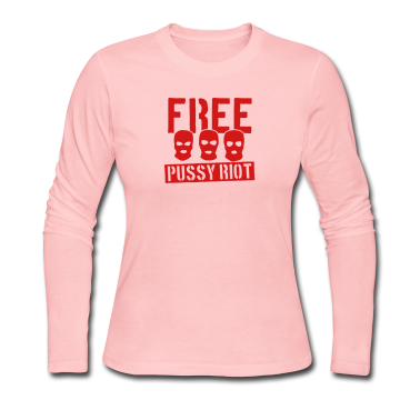 Free Pussy Riot Long Sleeve Shirts