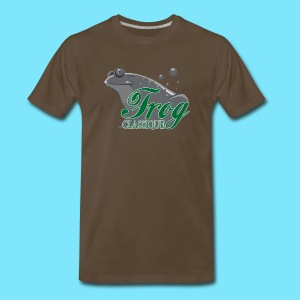 Frog Classique T-Shirt (Brown) - Men's Premium T-Shirt