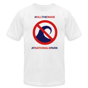 Kill the Wave Tee - Men's T-Shirt by American Apparel