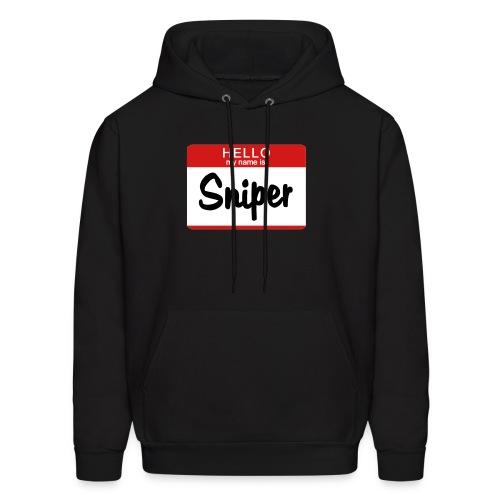 Hello, I'M Sniper Sweatshirt - Men's Hoodie