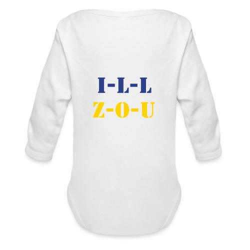 Split Loyal-tee - Organic Long Sleeve Baby Bodysuit