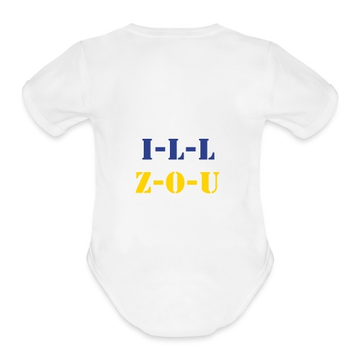 Split Loyal-tee - Organic Short Sleeve Baby Bodysuit