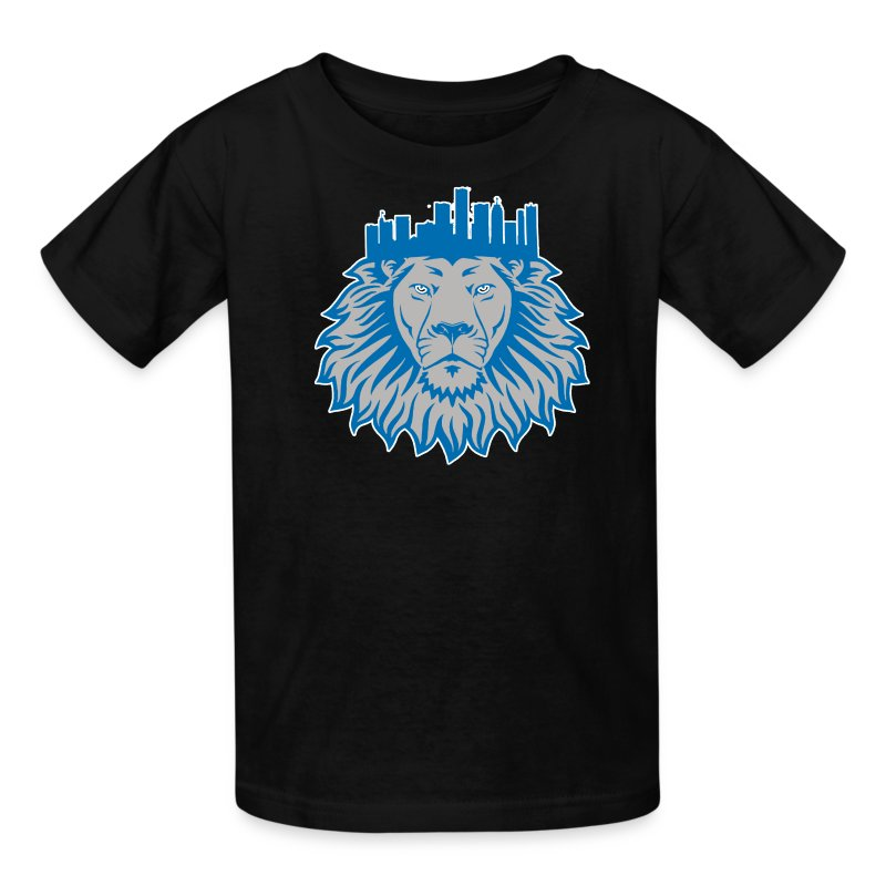 Detroit Crown Kids' Shirts - Kids' T-Shirt