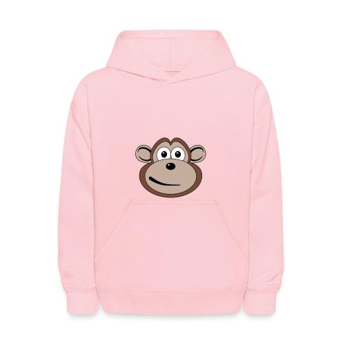 Cartoon Monkey Face - Kids' Hoodie