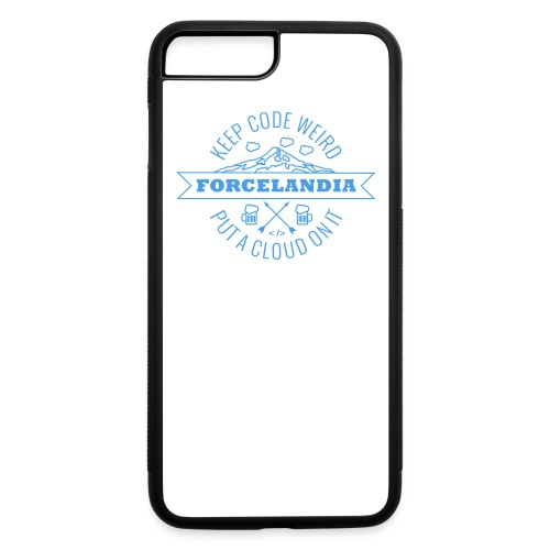 Forcelandia iPhone 7 Plus Rubber Case - iPhone 7 Plus/8 Plus Rubber Case