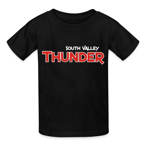 Black Thunder Practice T with number - Kids' T-Shirt