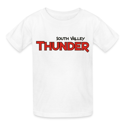 Thunder practice T with number - Kids' T-Shirt
