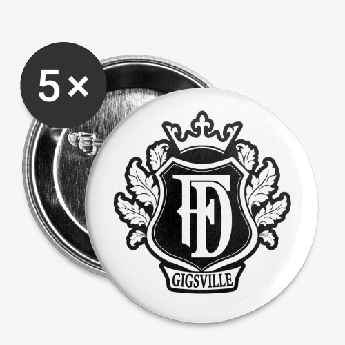 Fabdis Crest Buttons 1 - Small Buttons